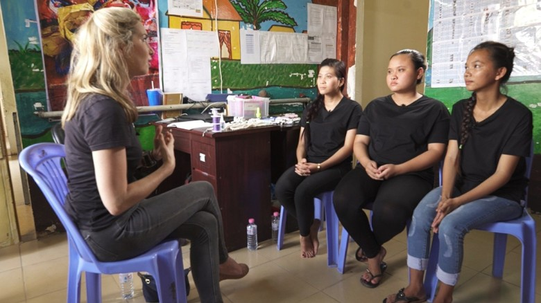 Sex trafficking victims in Cambodia speak out