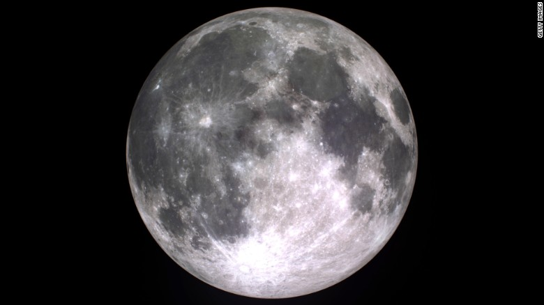 Study suggests water in moon's interior