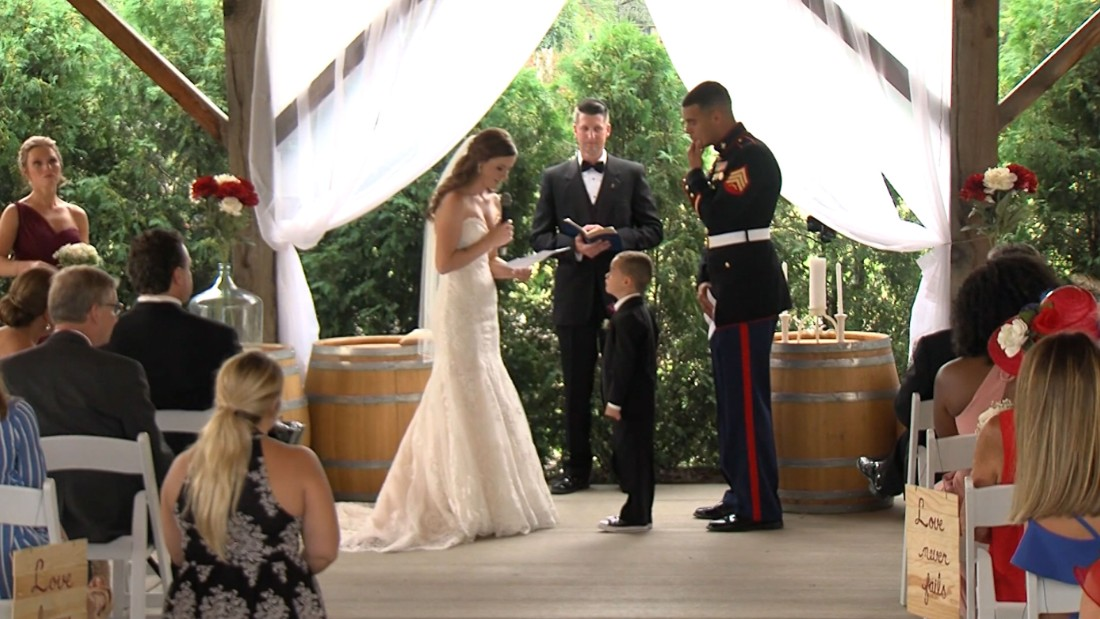 Wedding Gifts For Stepmom: Stepmom's Vows Make 4-year-old Cry
