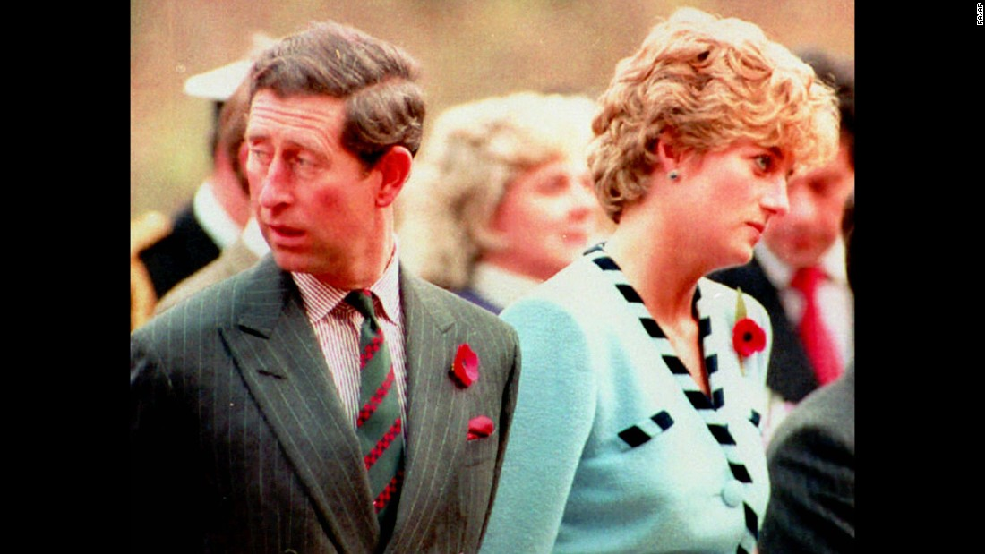 Charles and Diana attend a memorial service during a tour of South Korea in November 1992. A month later, it was announced that they had formally separated.