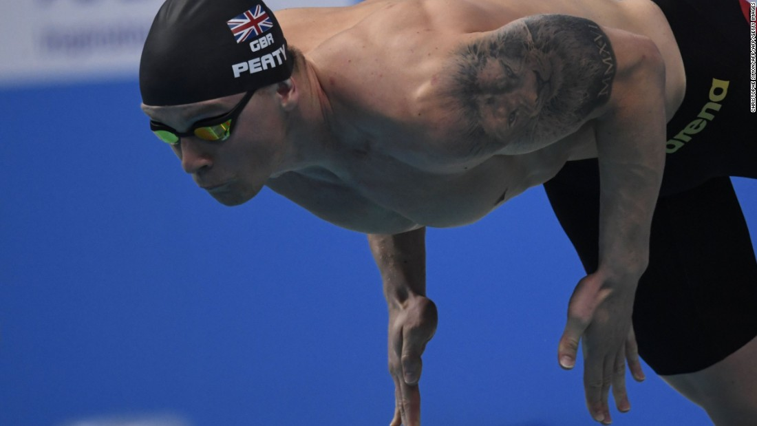 In total, 75 gold medal are up for grabs, one of which was won by Great Britain's Adam Peaty in the 100m breaststroke. The Olympic champion now holds the top 10 fastest times in history in that event.