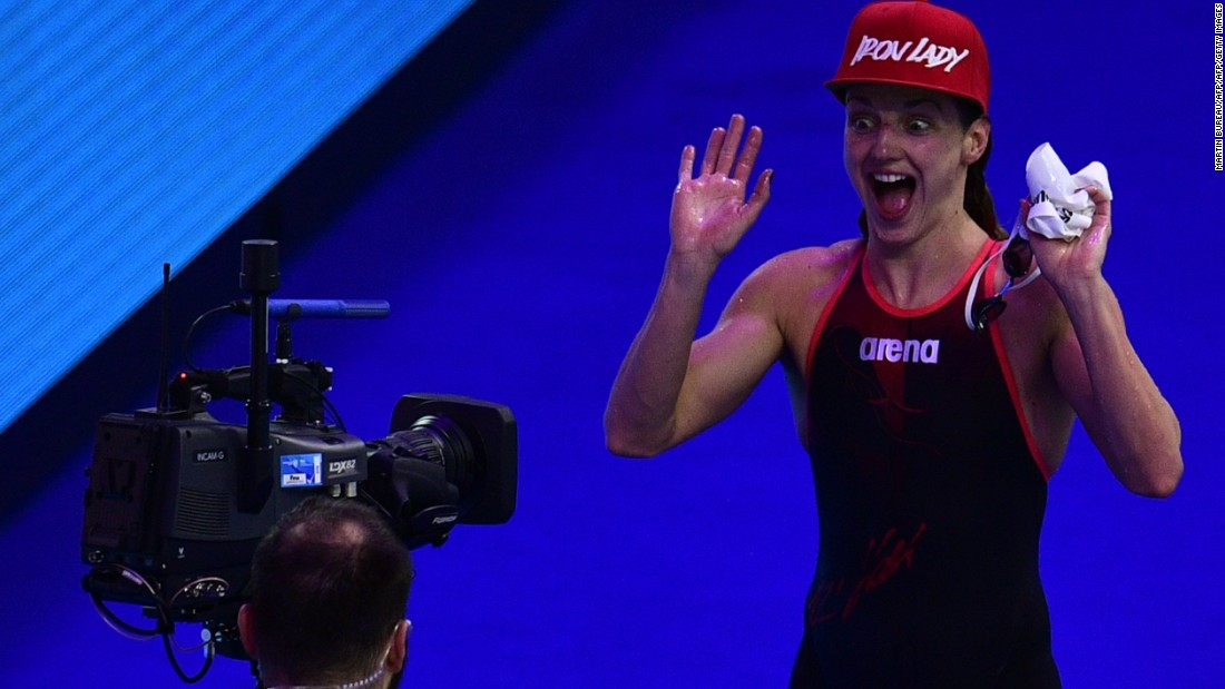 Katinka Hosszu is one of swimming's greats and has achieved legendary status in her native Hungary. A three-time Olympic gold medalist in Rio, she has already thrilled home crowds once this week with victory in the women's 200m individual medley final.