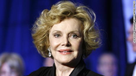 Barbara Sinatra at the National Italian American Foundation's 33rd Anniversary Awards Gala in 2008.