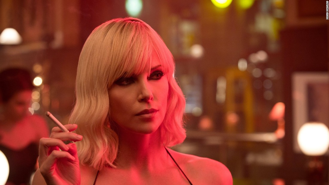 "Charlize Theron kicked butt and looked fabulous while doing it as an undercover MI6 agent in ""Atomic Blonde."" She was strong, smart and beyond fierce in the role."