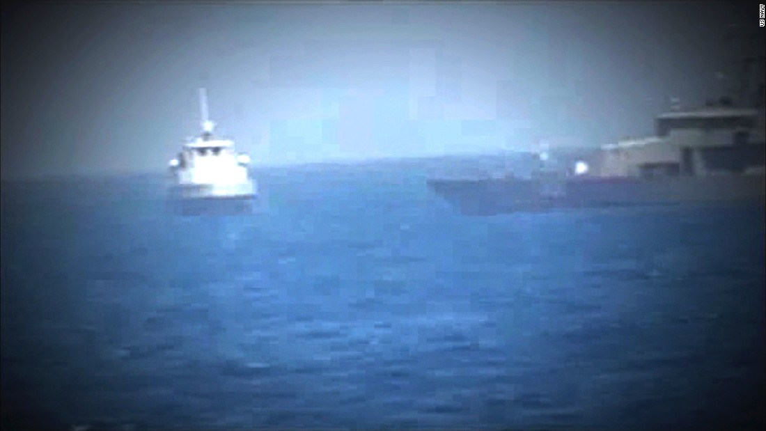 US Navy puzzled by recent behavior of Iranian attack boats