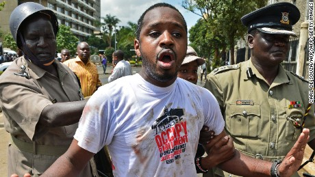Could Boniface Mwangi stage a shock upset in the Kenyan elections?