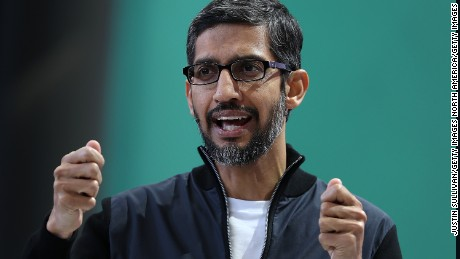 Google CEO says internal tests of Chinese search engine promising