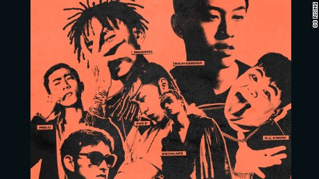Straight outta... China? The young Asian artists bucking hip-hop trends