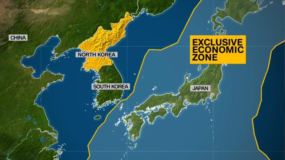 Trump Condemns North Korea Longrange Missile Launch CNNPolitics - Japan map korea