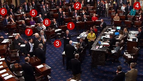 19 seconds of drama: McCain's vote in July