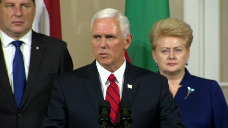 Pence slams Russia as sanctions dispute escalates