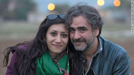 German-Turkish journalist Deniz Yucel, right, has been imprisoned for 200 days, German authorities say.