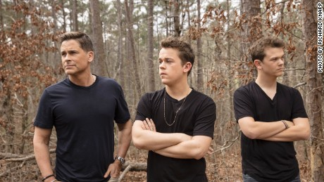 Rob Lowe and sons John Owen and Matthew in 'The Lowe Files'