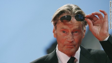 "US actor Sam Shepard adjusts his sunglasses as he arrives for the screening of  the movie ""The Assasination of Jessie James by the coward Robert Ford"" during the 64th Venice International Film Festival at Venice Lido 02 September 2007. ""The Assasination of Jessie James by the coward Robert Ford"" is presented in competition for the Golden Lion Award."