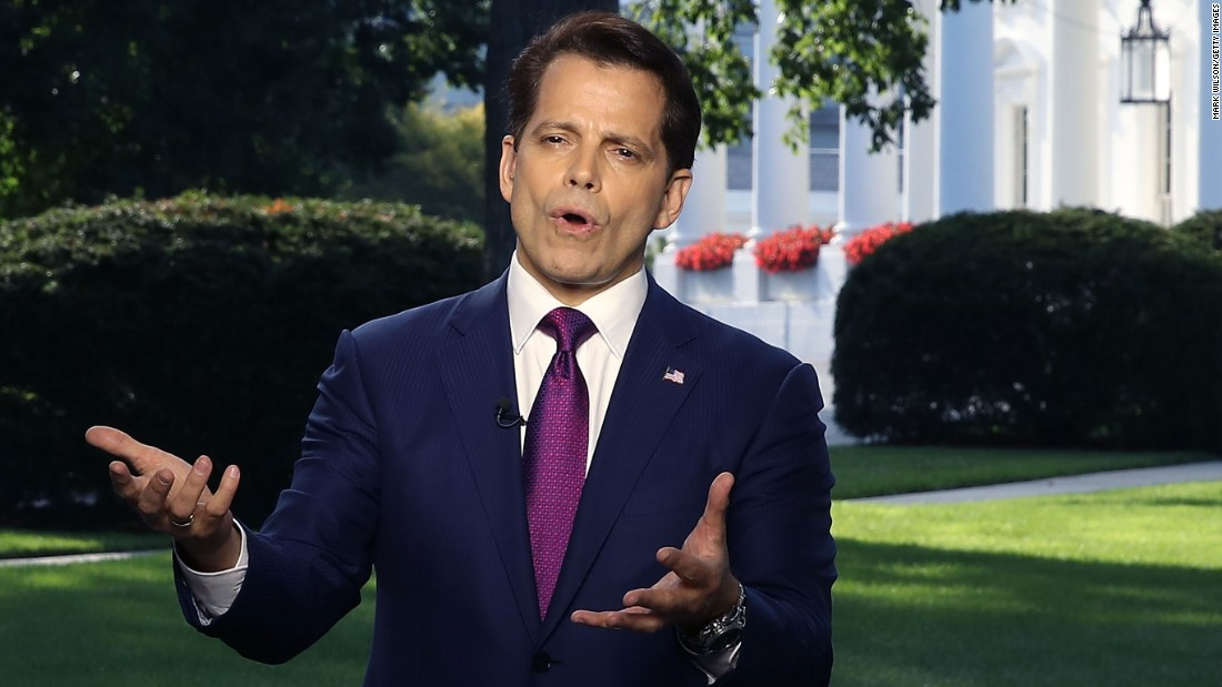 Scaramucci cancels online event Friday