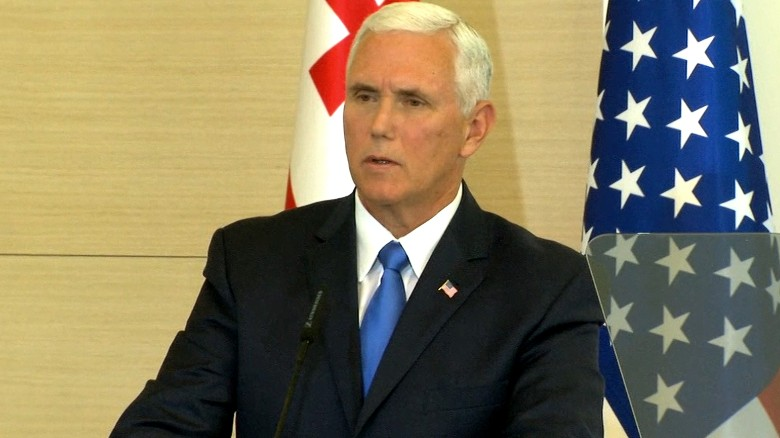 Pence: Trump will sign sanctions bill soon