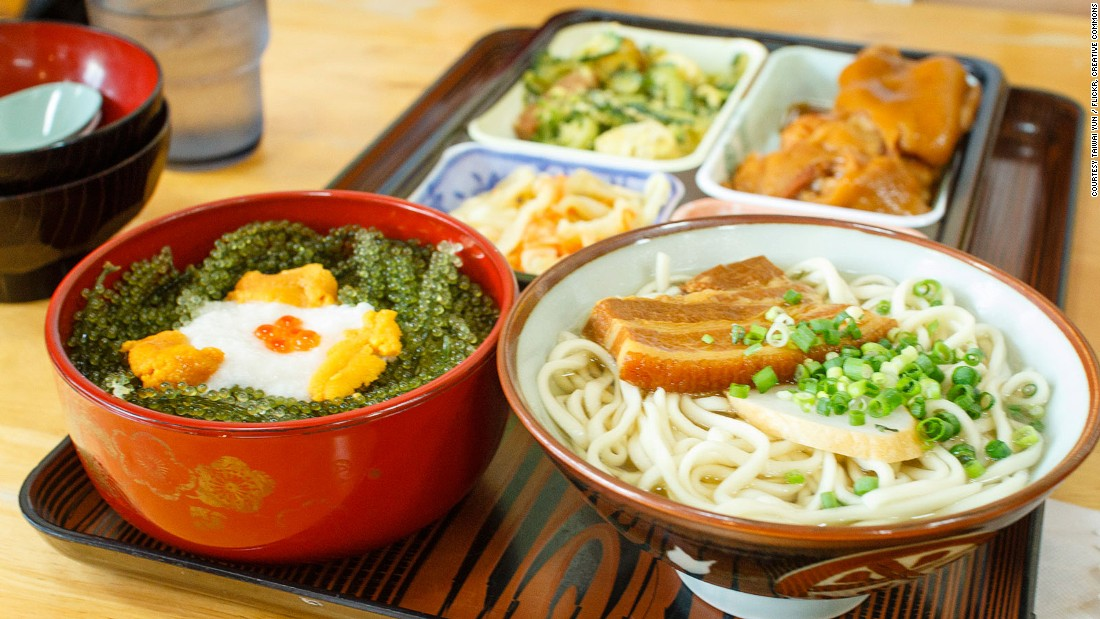 okinawan cuisine the japanese food you don t know cnn travel