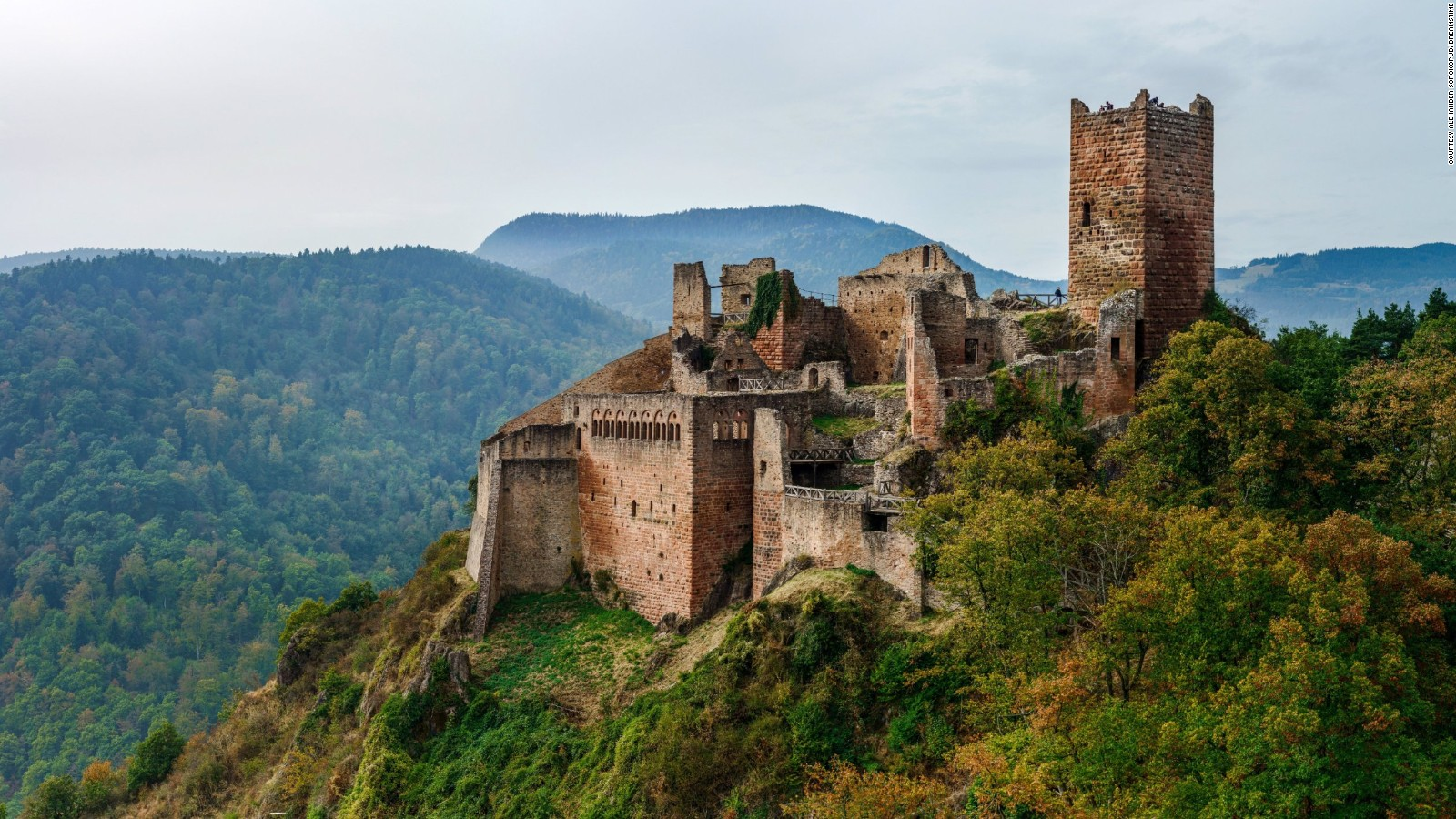 abandoned castles around the world cnn travel - Castle