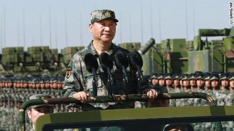 Xi says military must obey Communist Party as leadership reshuffle nears