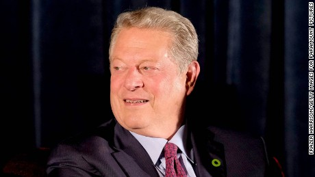 Al Gore presses on with climate change action in the Trump era