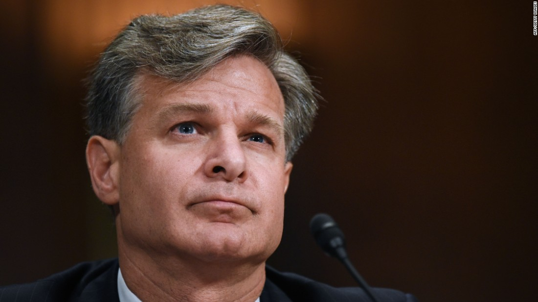 FBI Director Christopher Wray defends agency