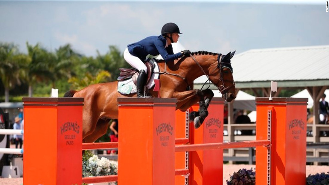 On top of all her duties as de facto CEO of Team Walker, she also manages to squeeze in her passion for amateur showjumping, competing around the US in up to 15 competitions a year.