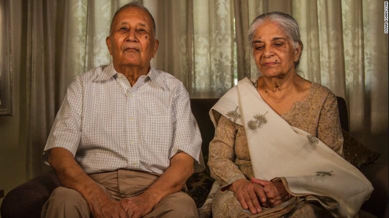 Neelam and Devendra Nath Nanda