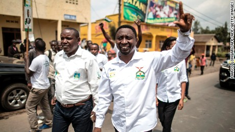 Frank Habineza is running for the first time, after an eight-year struggle to register his party.