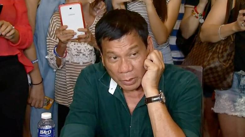 Philippines' President Duterte: I killed when I was 16