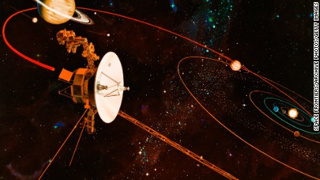 Voyager probes fulfill 40 years of space exploration