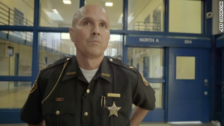 Sheriff Robert Leahy of Clermont County, Ohio, runs the Community Alternative Sentencing Center.