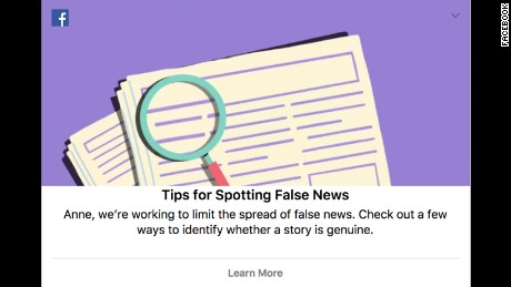 In a bid to curb the spread of false news ahead of the Kenyan election, Facebook has pinned tips for spotting hoax reports on user timelines in the country.