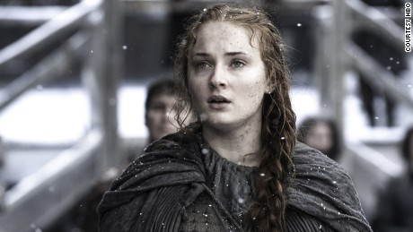 Sansa reunites with her long-lost siblings after seasons of abuse.