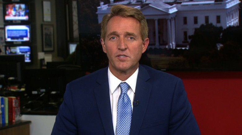 Flake: I'll oppose Trump when 'he's wrong'