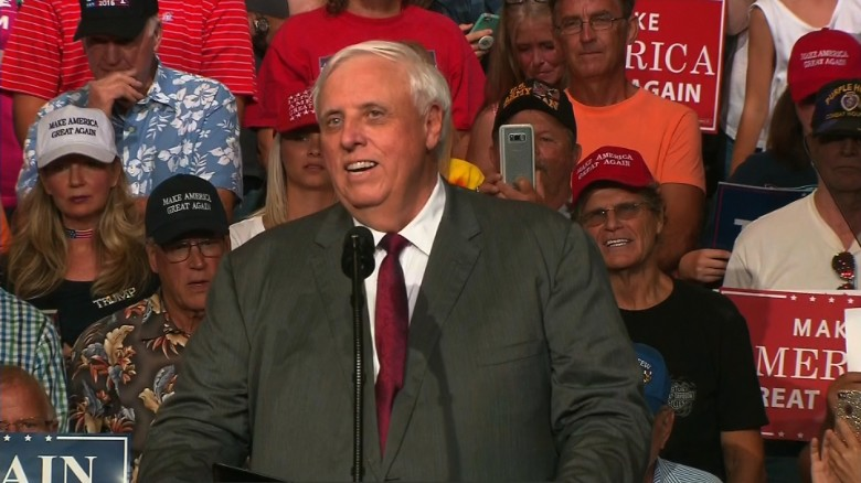 West Virginia Gov. announces he will join GOP
