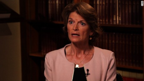 It's all coming down to Lisa Murkowski -- again