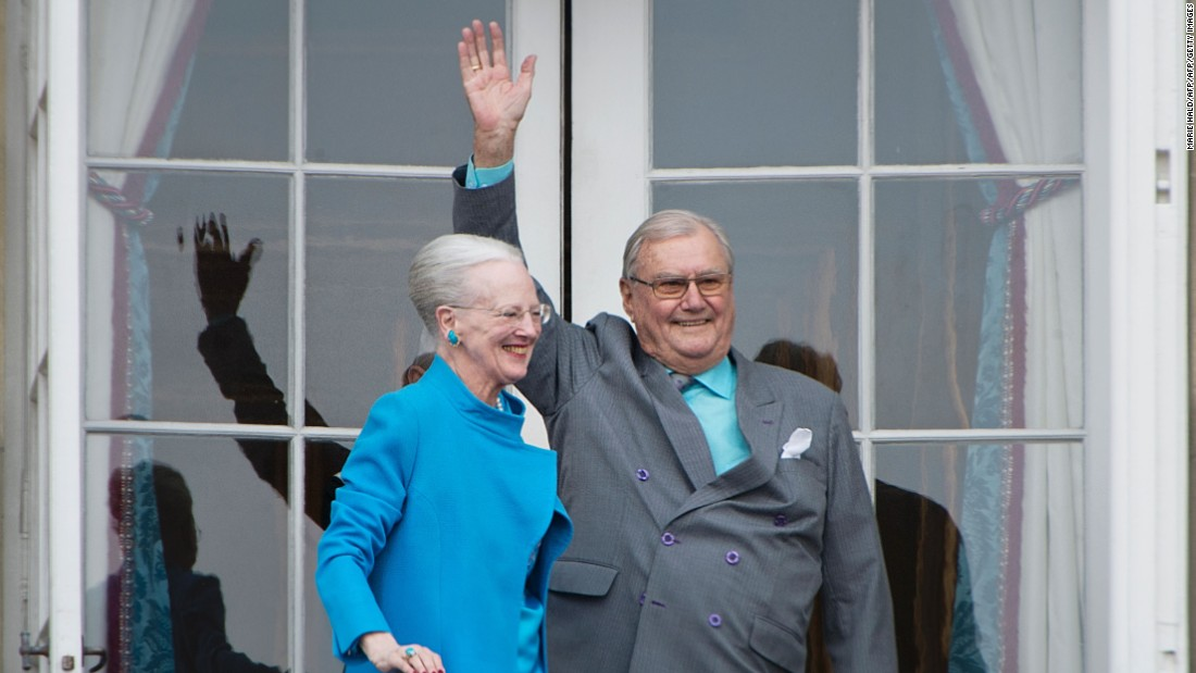 Denmark's prince refuses to be buried next to his queen over title row