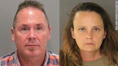 Authorities allege couple exchanged text messages.