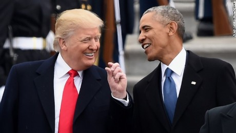 200 days in: Obama still on Trump's mind