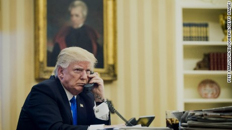 Details emerge of Trump's calls with leaders