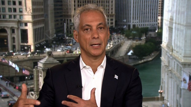 Emanuel: We won't be coerced on our values