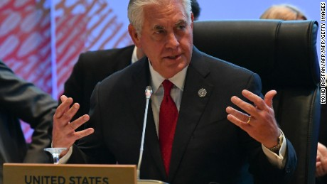 Tillerson: World wants nuclear-free peninsula