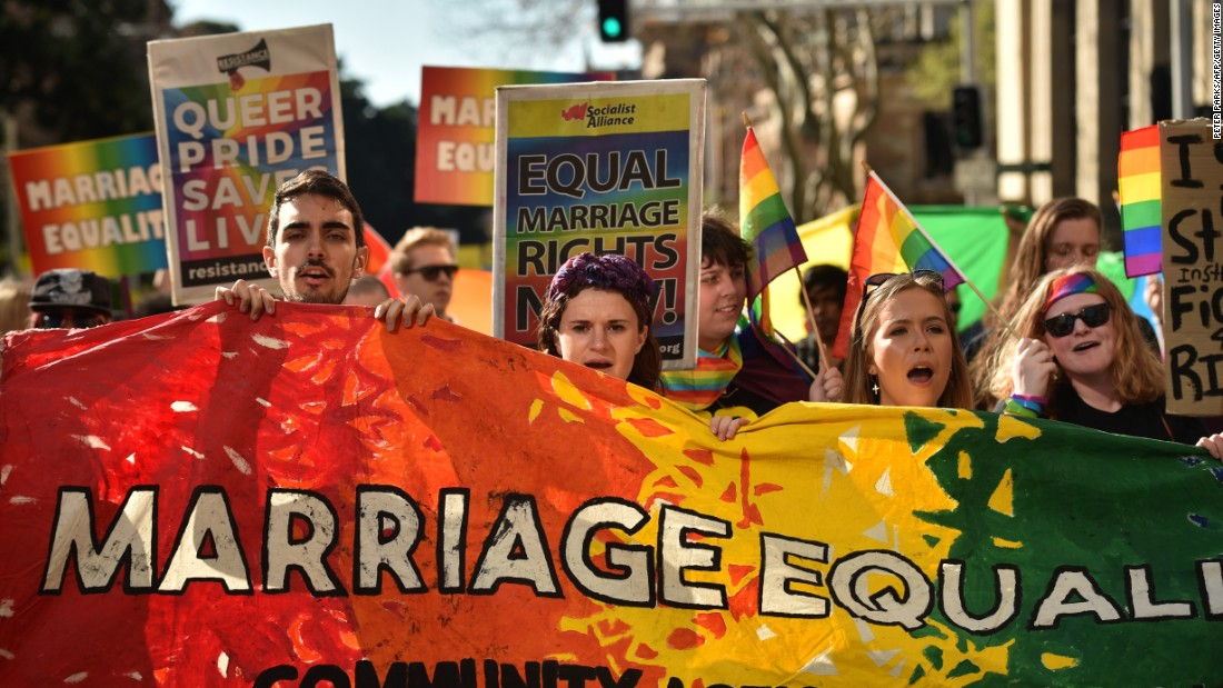 same sex marriage newspaper articles australia news in Rotherham