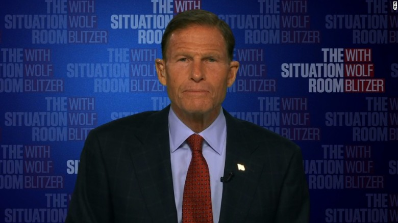 Blumenthal: I won't be distracted by bullying