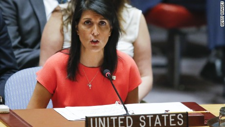 Haley: Trump right on UN 'incompetence' in 2016