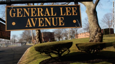 General Lee Avenue at Fort Hamilton in Brooklyn, New York's only active-duty military base.