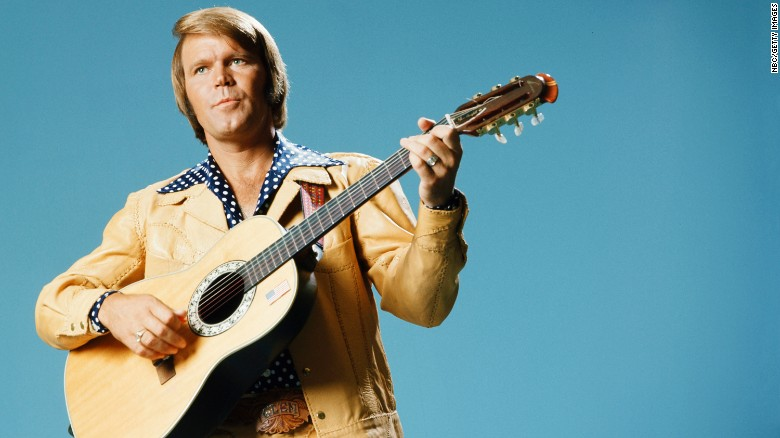 GLEN CAMPBELL -- Pictured: Musician Glen Campbell -- (Photo by: NBC/NBCU Photo Bank via Getty Images)