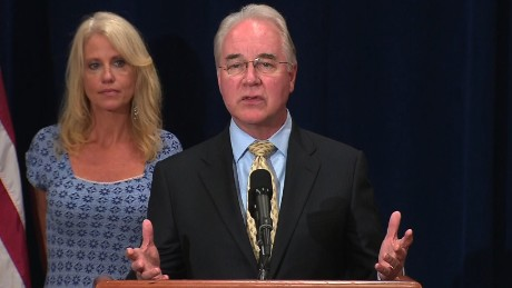 HHS Secretary Price: No business trips on private planes while matter is reviewed