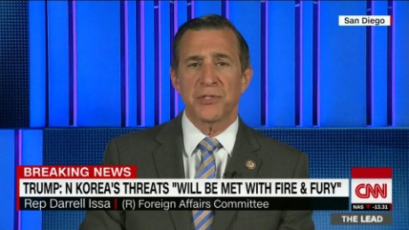 lead darrell issa north korea nuclear trump jake tapper _00002203