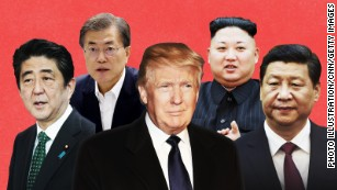 Asia trip is a chance for Trump to act like a leader